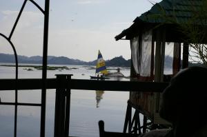 Sailing on Lake Victoria