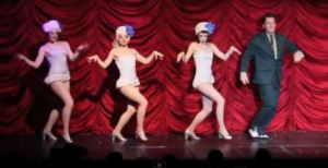 The Snowflakes (Holly, Inga and Polly) in Land of the Sweets at The Triple Door.