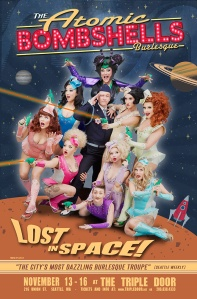 """Lost in Space"" Poster @ The Triple Door."