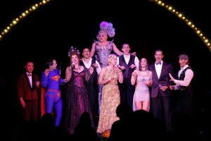 Full Cast of 'On the Air' at Teatro ZinZanni's. Photo credit: Keith Brofsky