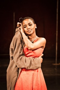 "Nonhlanhla Kheswa in Peter Brook's ""The Suit"". Photo: Johan Persson."